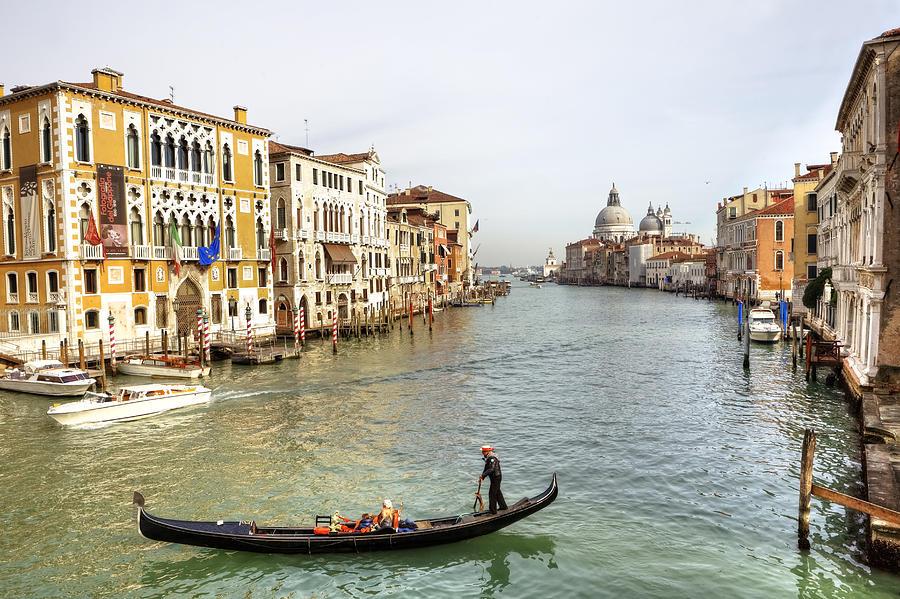 Santa Maria Della Salute Photograph - Venezia by Joana Kruse