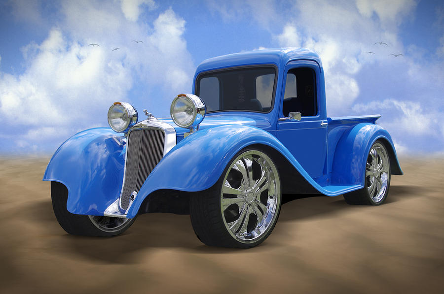 34 Dodge Pickup Photograph  - 34 Dodge Pickup Fine Art Print
