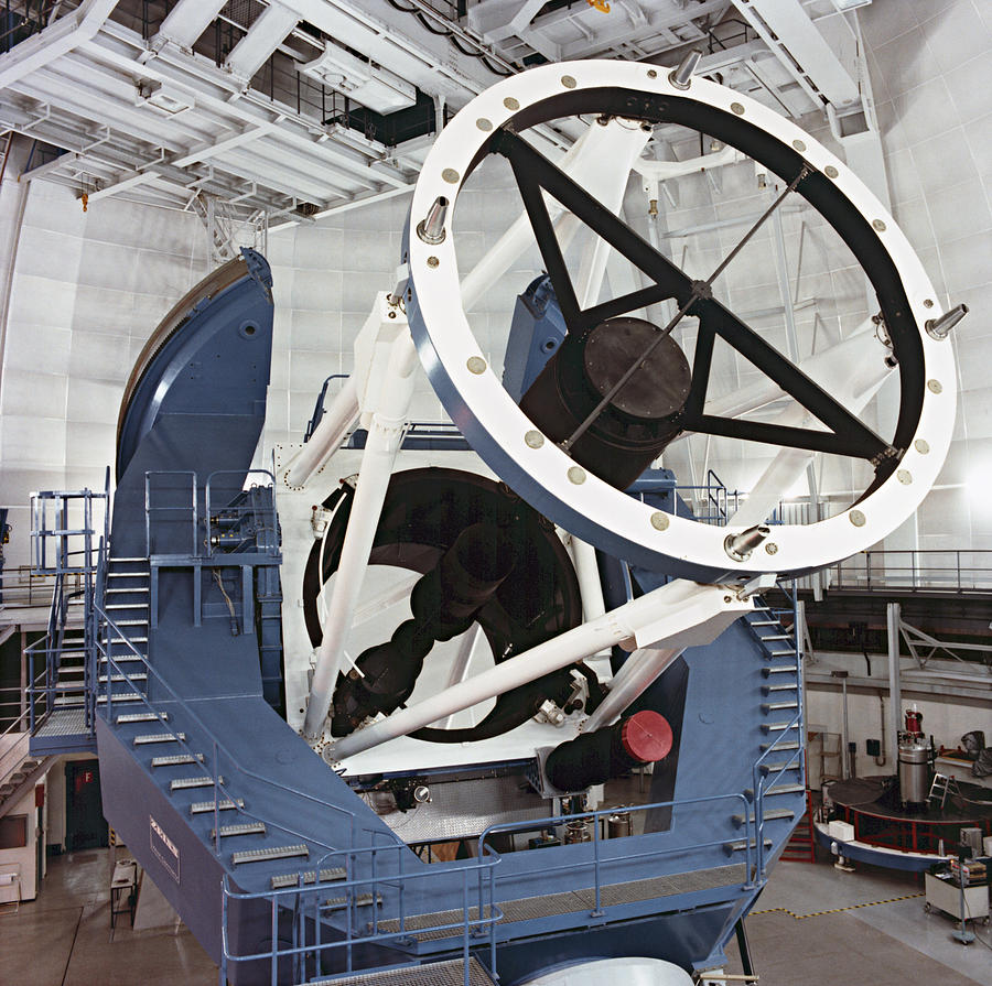 3.5-metre Optical Telescope Photograph  - 3.5-metre Optical Telescope Fine Art Print