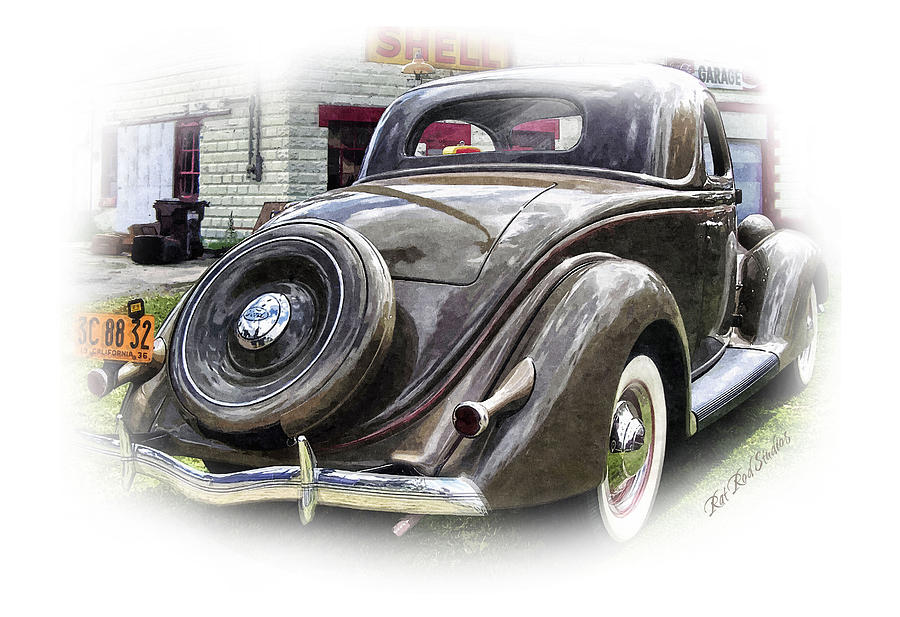 Fine Art Print Rat Rod