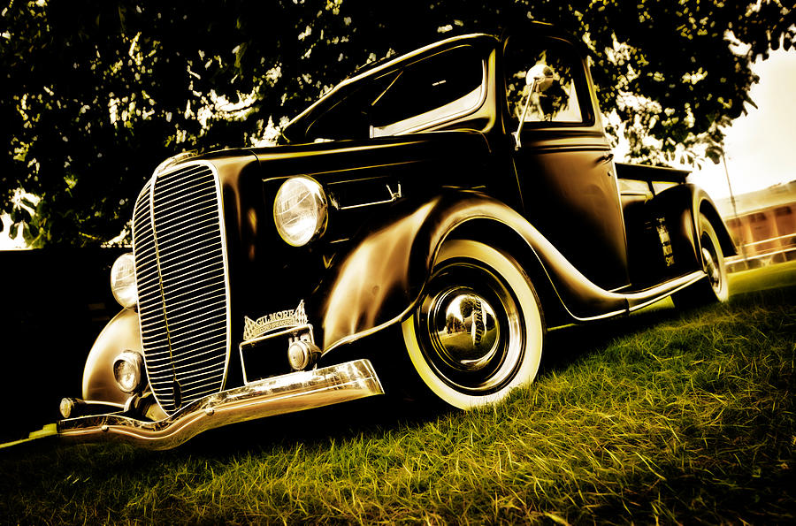 37 Ford Pickup Photograph
