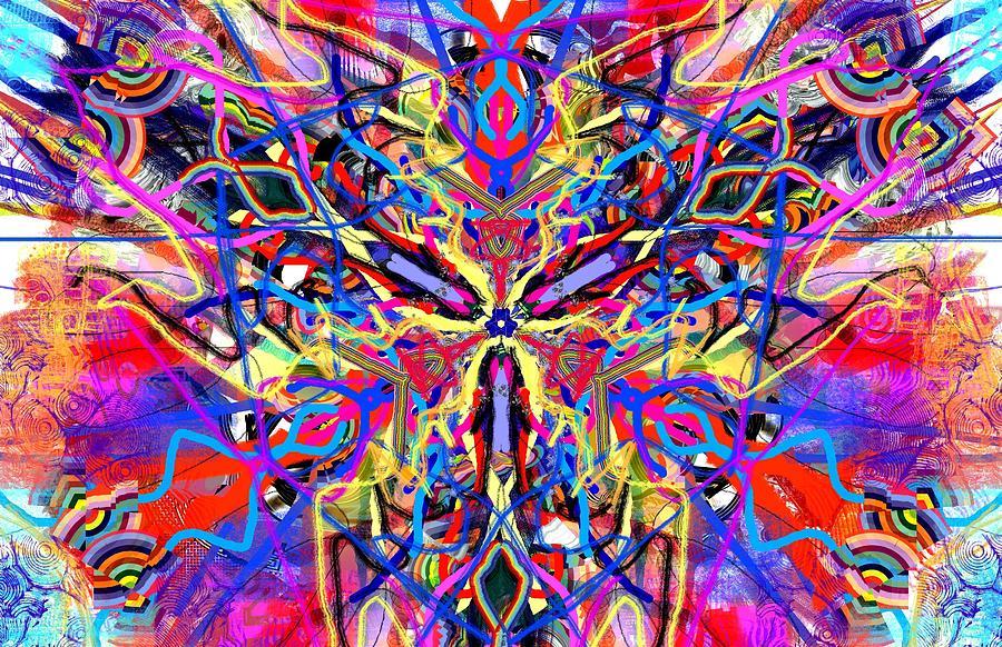 Abstract Shape Abstract Shape Mixed Media