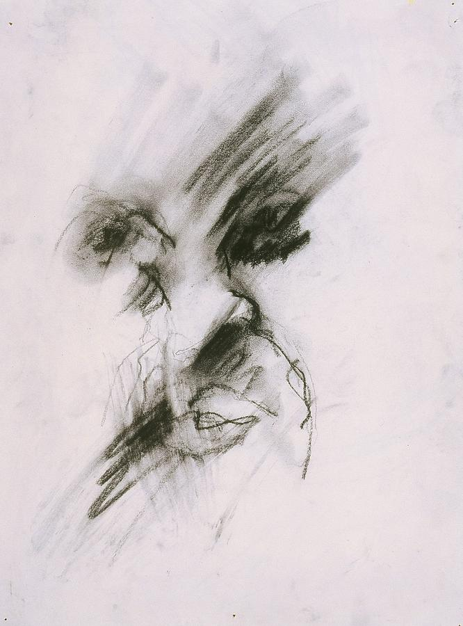 Fine Art Drawing - Untitled by Iris Gill