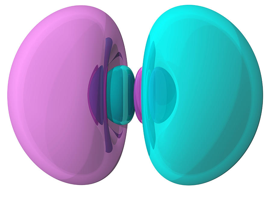 3p Photograph - 3p Electron Orbital by Laguna Design