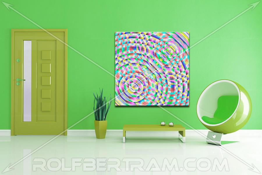 An Example Of Modern Art By Rolf Bertram In An Interior Design Setting Digital Art