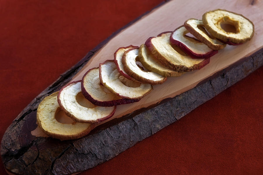 Apple Chips Photograph - Apple Chips by Joana Kruse