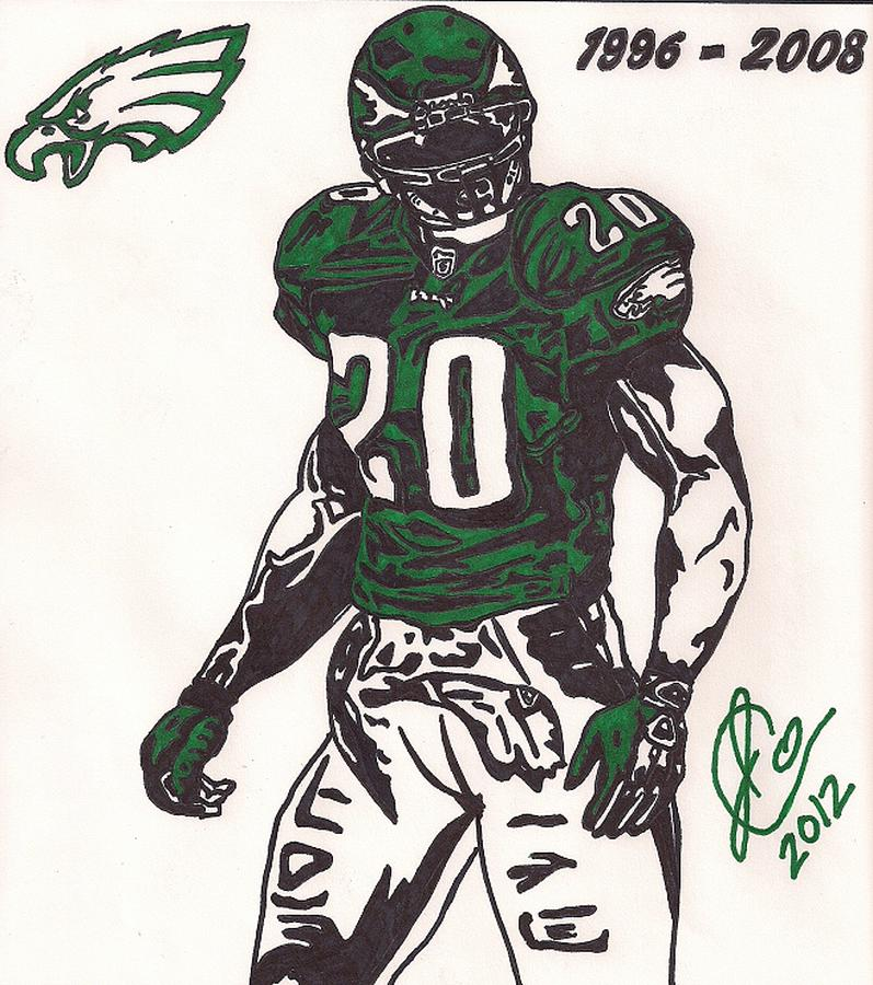 Brian Dawkins Drawing