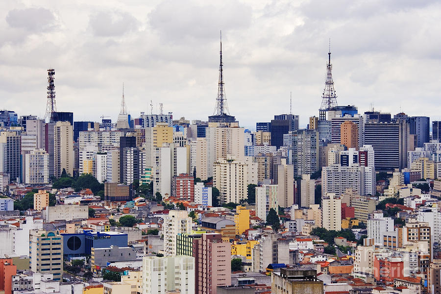 Buildings Of Downtown Sao Paulo Photograph