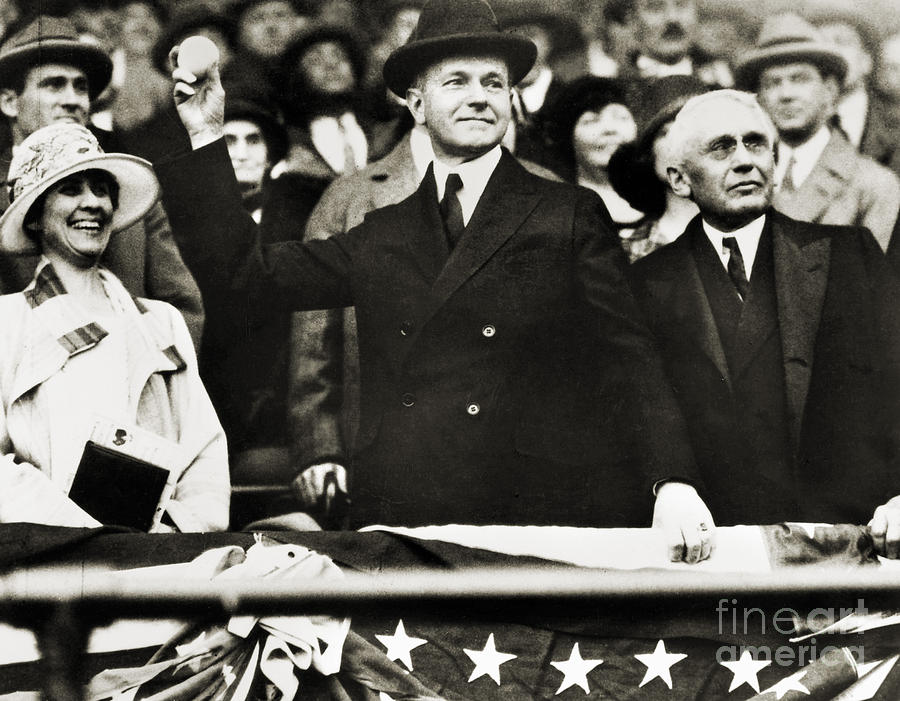 1920s Photograph - Calvin Coolidge (1872-1933) by Granger