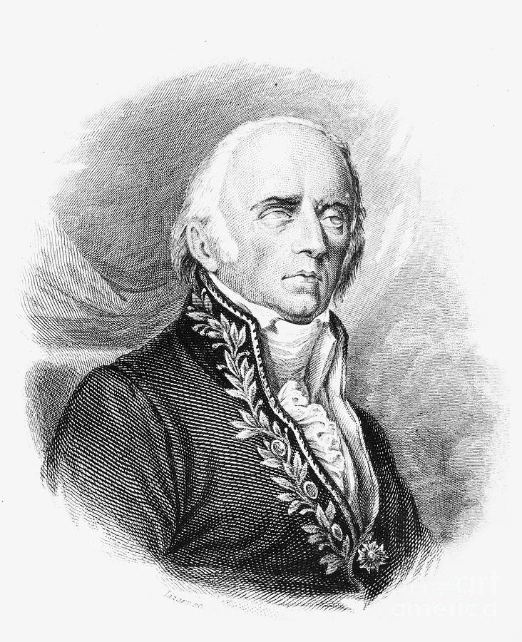 1824 Photograph - Chevalier De Lamarck by Granger