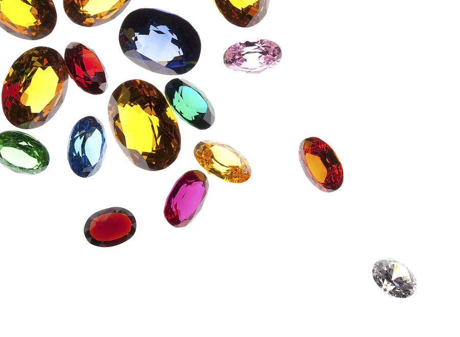 Colorful Gems Photograph