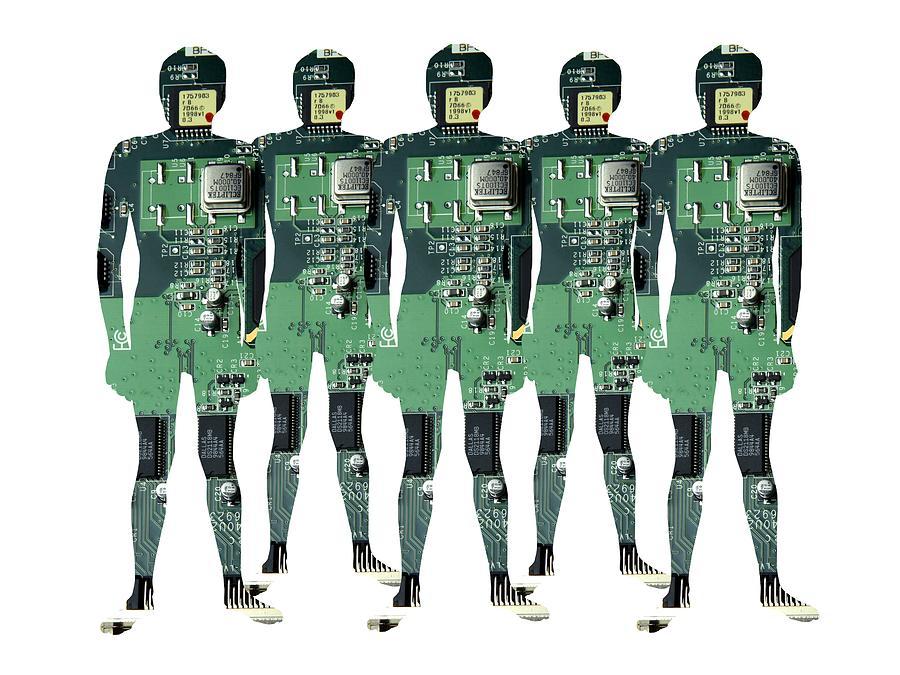 Cybernetics And Robotics Photograph