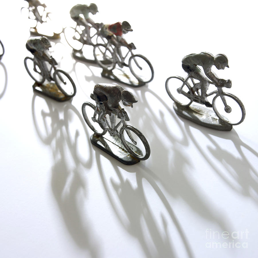 Cyclists Photograph