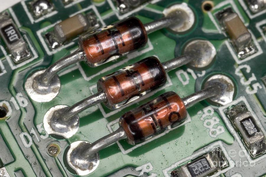 Electronics Board Photograph