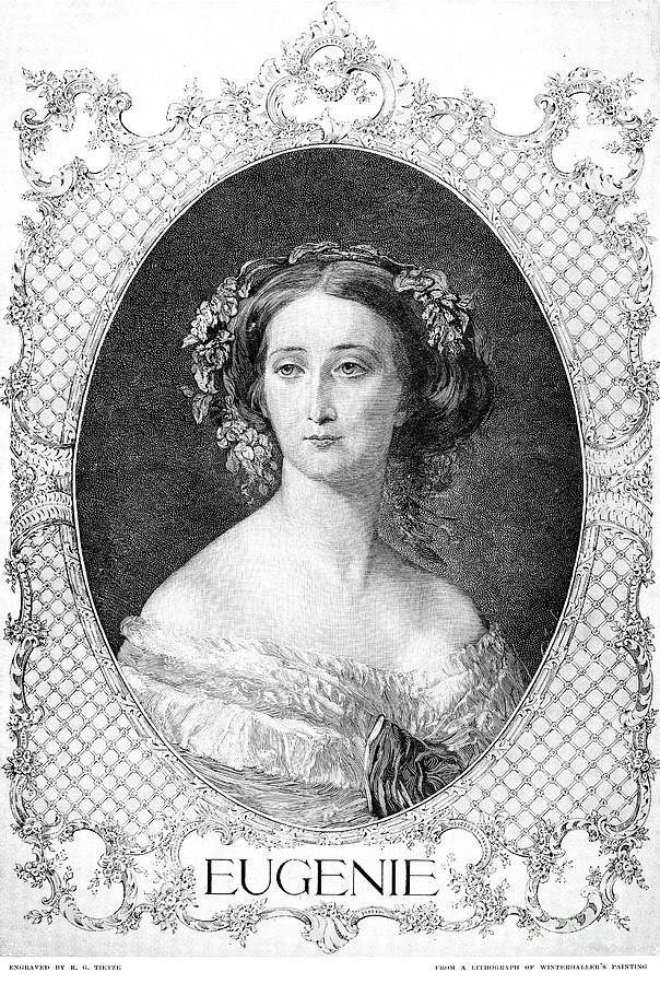 Empress Eugenie Of France Photograph  - Empress Eugenie Of France Fine Art Print