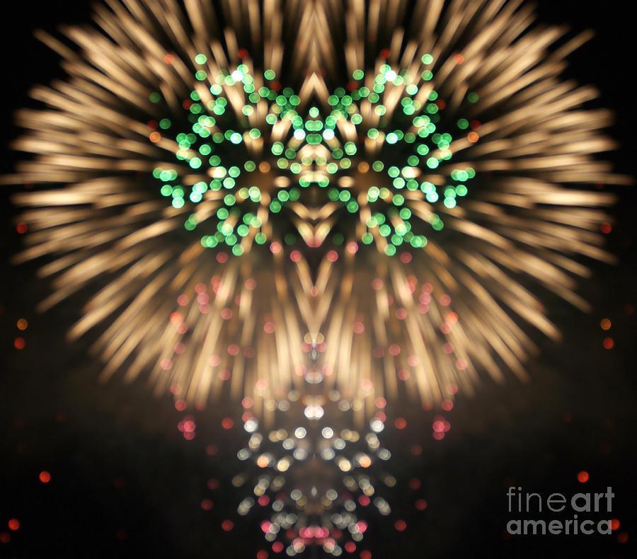 Firework Digital Art