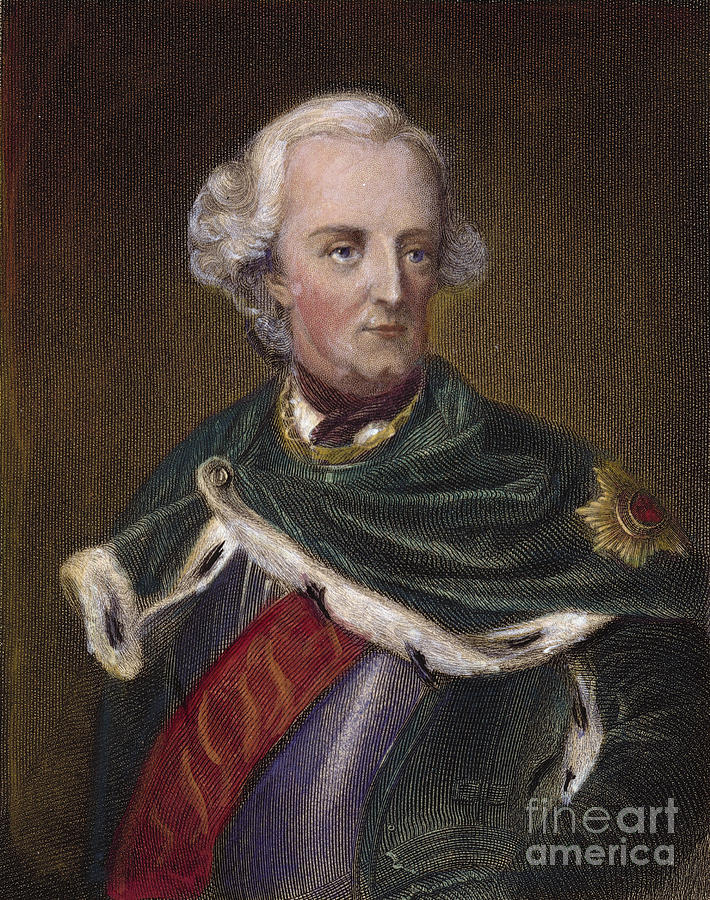 Frederick II Of Prussia Photograph  - Frederick II Of Prussia Fine Art Print