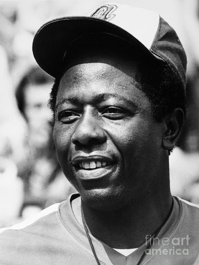 Hank Aaron (1934- ) Photograph