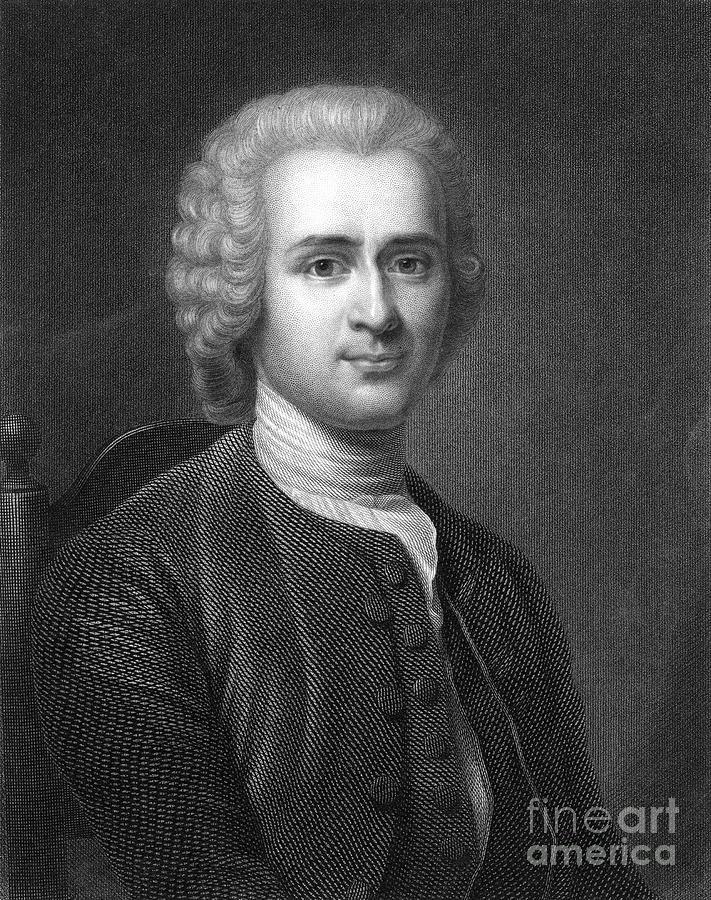Jean Jacques Rousseau Photograph