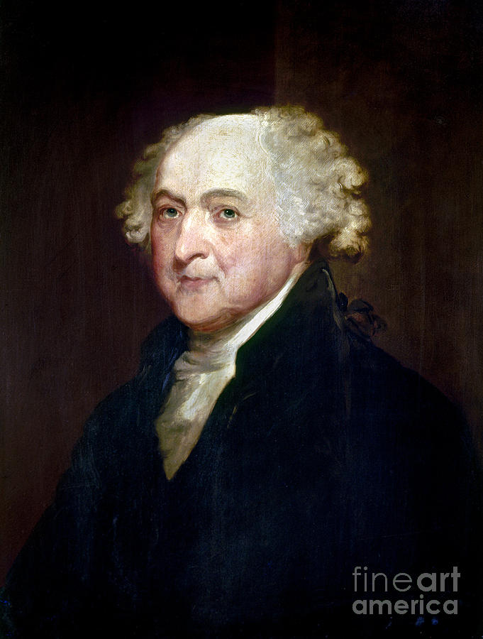John Adams (1735-1826) Photograph