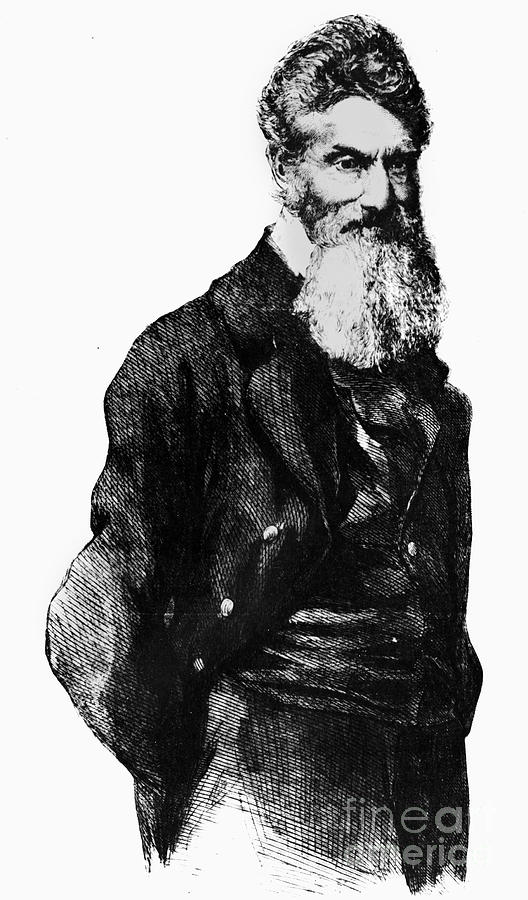 John Brown (1800-1859) Photograph  - John Brown (1800-1859) Fine Art Print