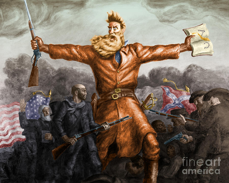 John Brown, American Abolitionist Photograph  - John Brown, American Abolitionist Fine Art Print