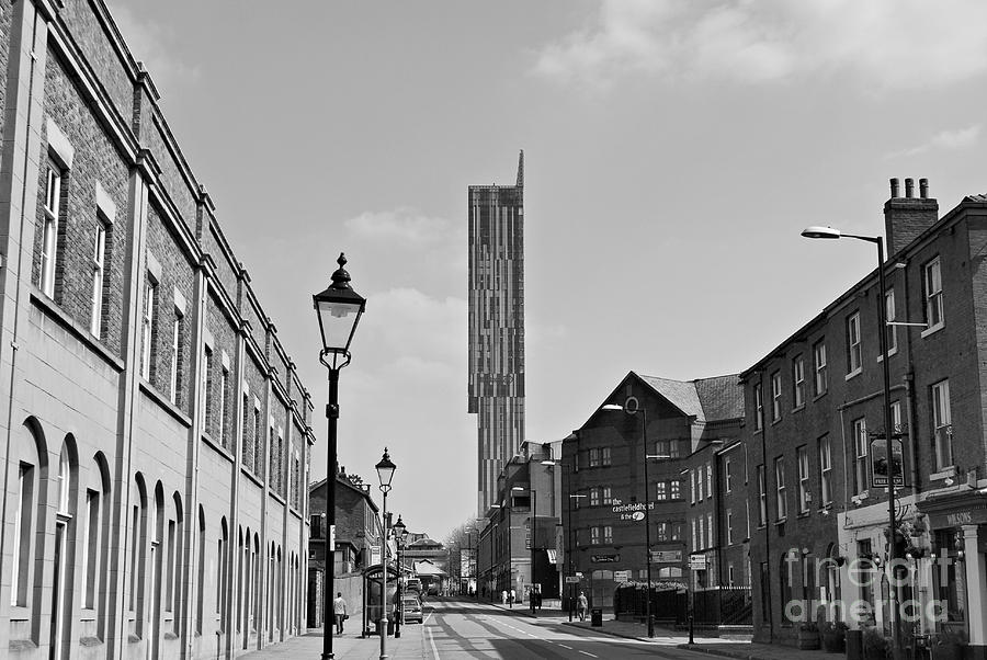 Manchester - Beetham Tower Photograph  - Manchester - Beetham Tower Fine Art Print