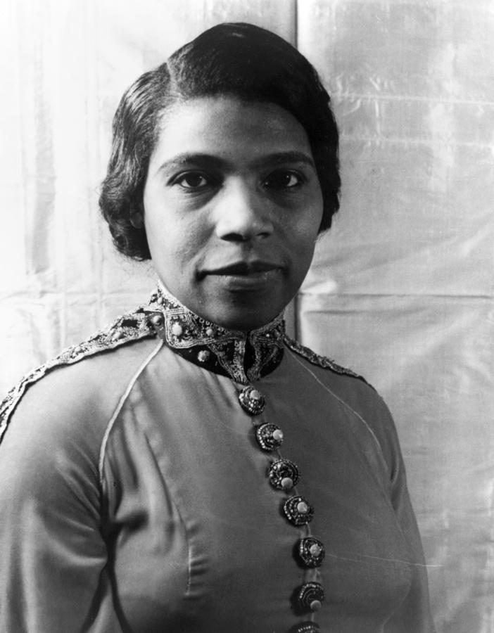 Marian Anderson (1897-1993) Photograph