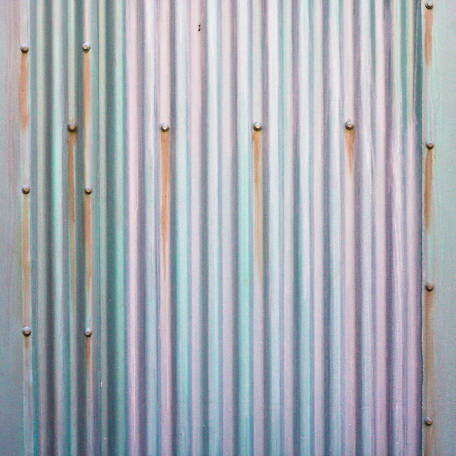 Background Photograph - Metal Background by Tom Gowanlock