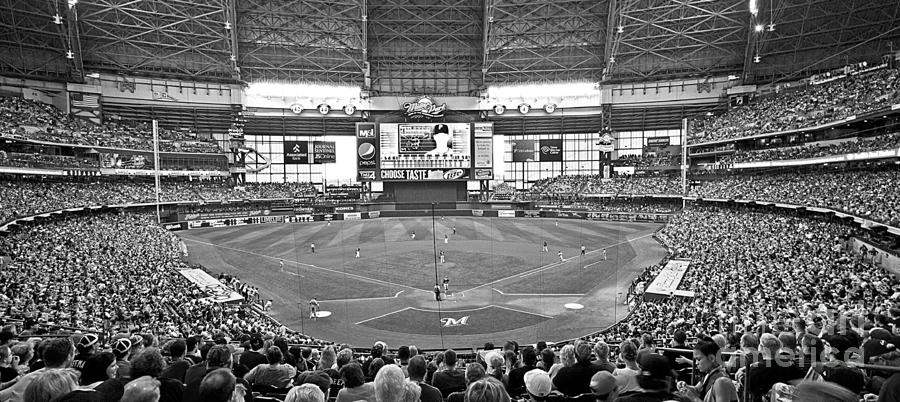Milwaukees Miller Park Photograph  - Milwaukees Miller Park Fine Art Print