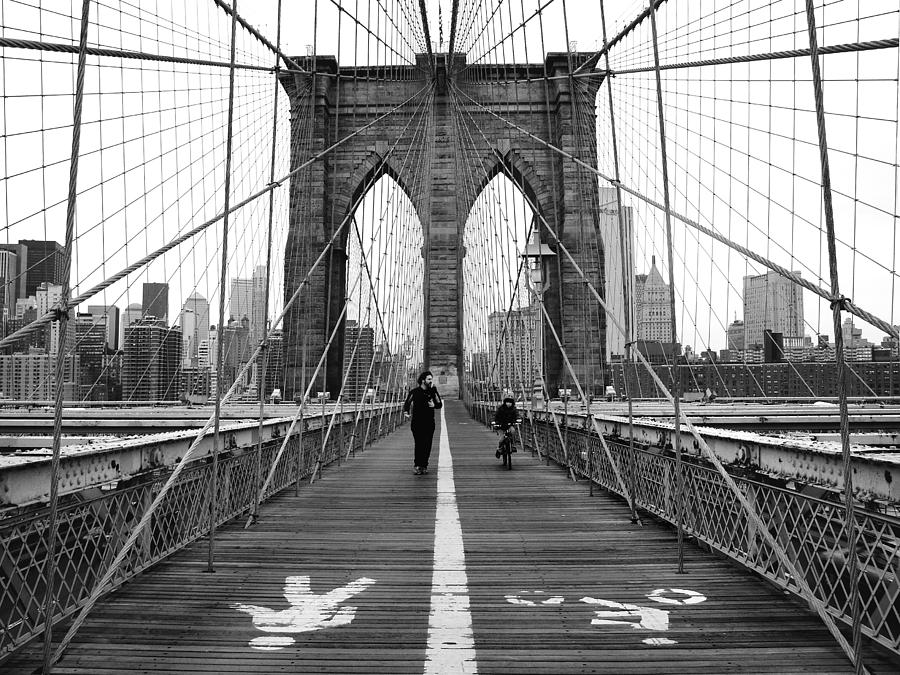 Nyc Brooklyn Bridge Photograph  - Nyc Brooklyn Bridge Fine Art Print