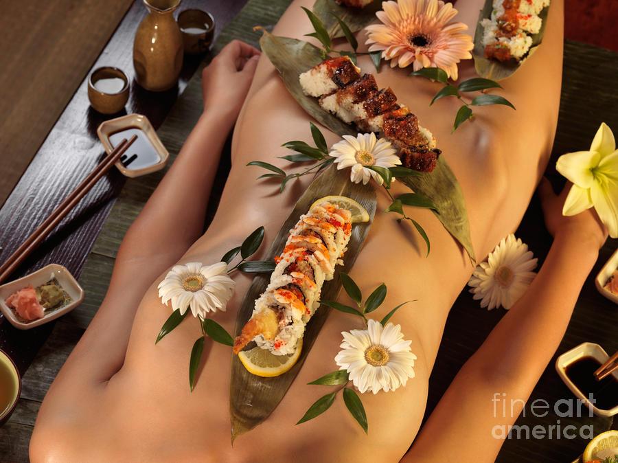 Nyotaimori Body Sushi Photograph