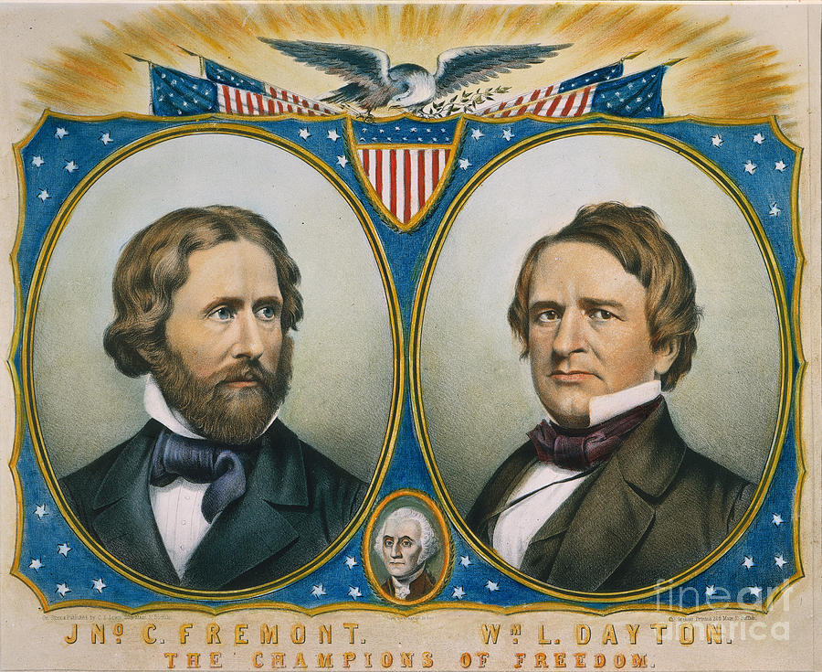 an overview of the presidential election of 1856 in america Famous tippecanoe and tyler too campaign of nonsense, copied from the  jackson democrats,  the whigs were also badly hurt by the short-lived native  american or  the last year the whigs had a presidential candidate was in 1856.