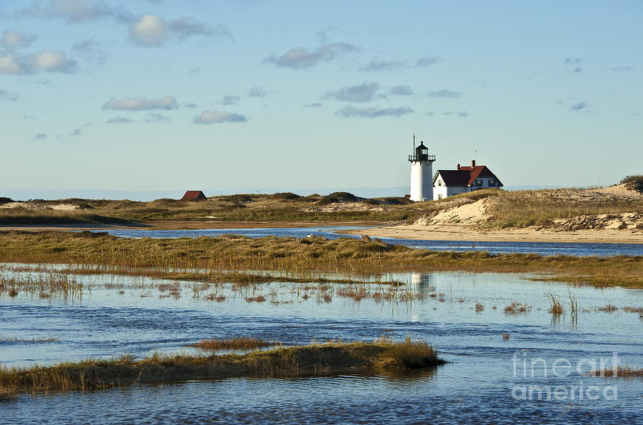 Race Point Lighthouse Photograph  - Race Point Lighthouse Fine Art Print