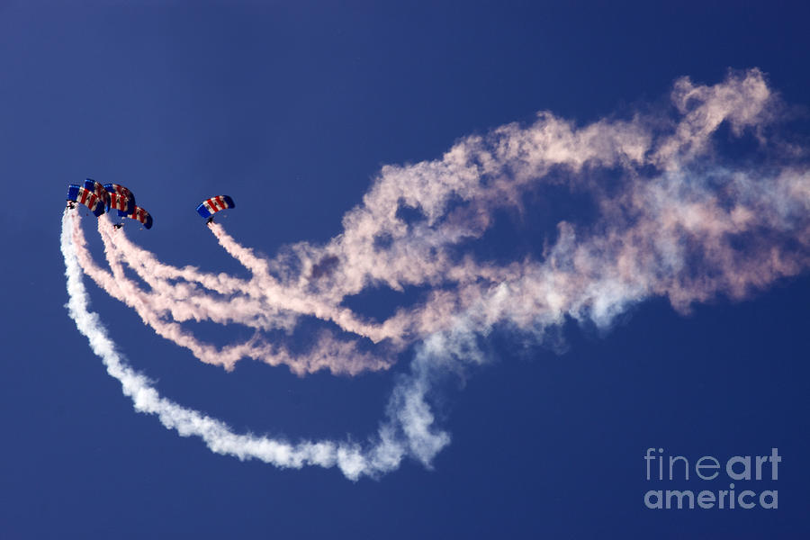 Raf Falcons Photograph  - Raf Falcons Fine Art Print