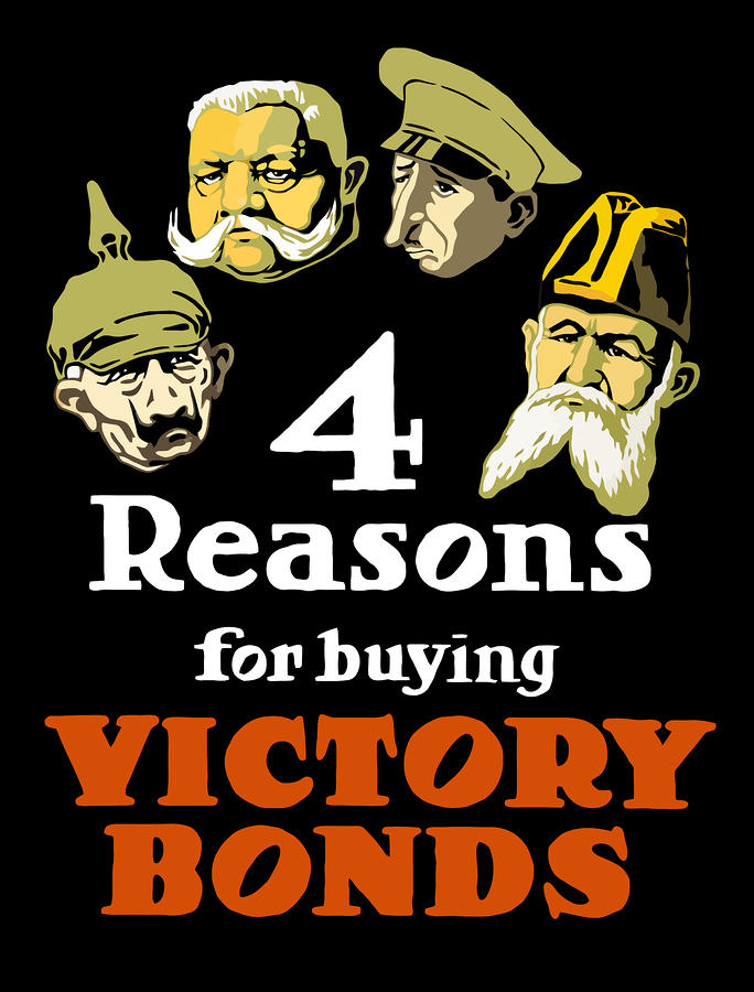 4 Reasons For Buying Victory Bonds Painting