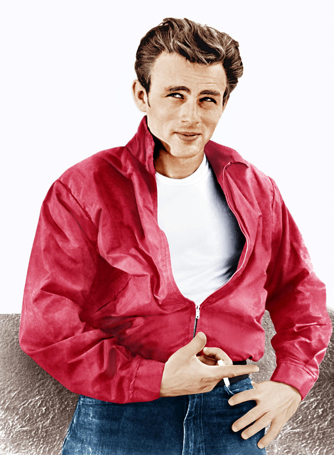 Rebel Without A Cause, James Dean, 1955 Photograph
