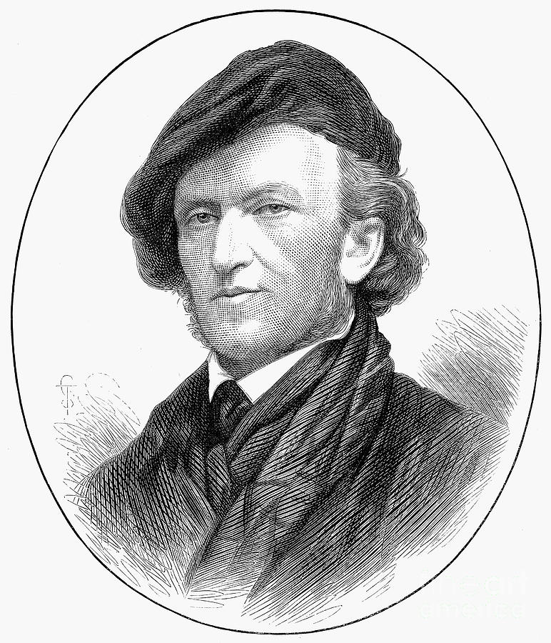 Richard Wagner (1813-1883) Photograph