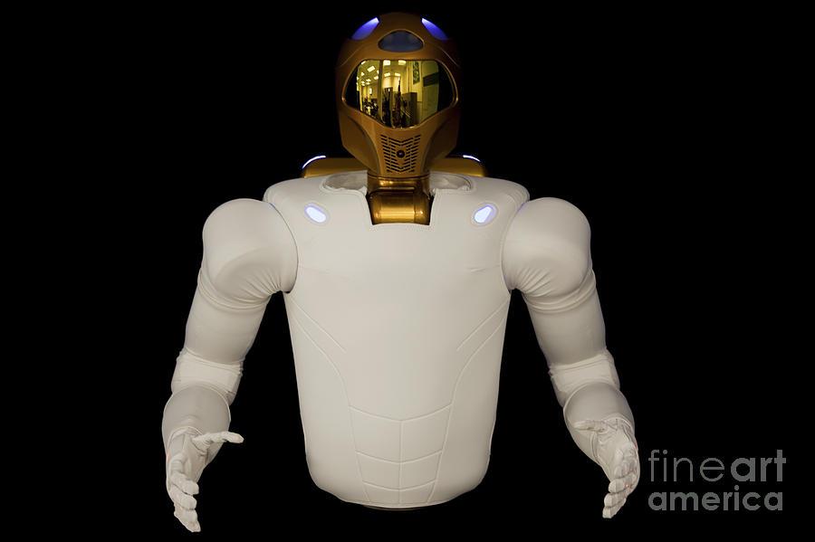 Dexterous Photograph - Robonaut 2, A Dexterous, Humanoid by Stocktrek Images