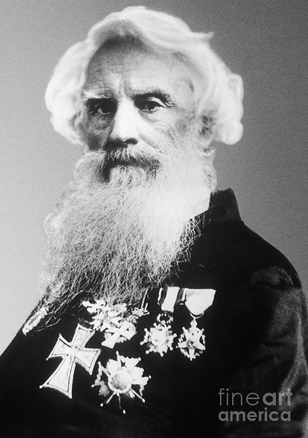Samuel Morse, American Inventor Photograph