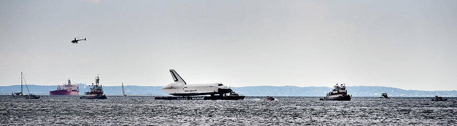 Shuttle Enterprise Photograph