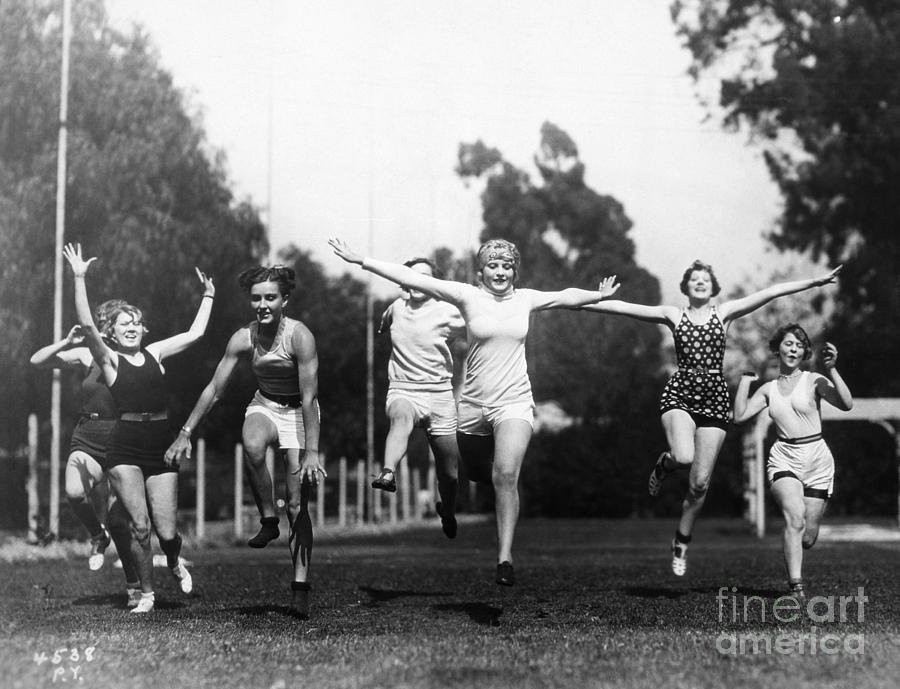 Silent Film Still: Sports Photograph