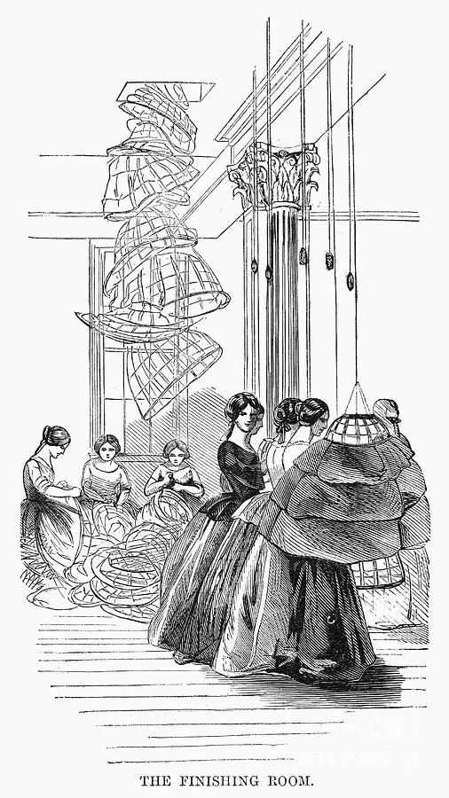 Skirt Factory, 1859 Photograph