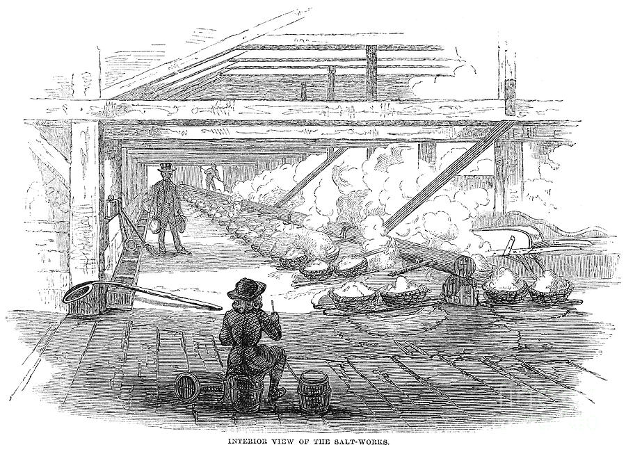 1857 Photograph - Slave Labor, 1857 by Granger