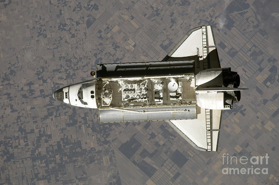 Space Shuttle Endeavour Photograph  - Space Shuttle Endeavour Fine Art Print