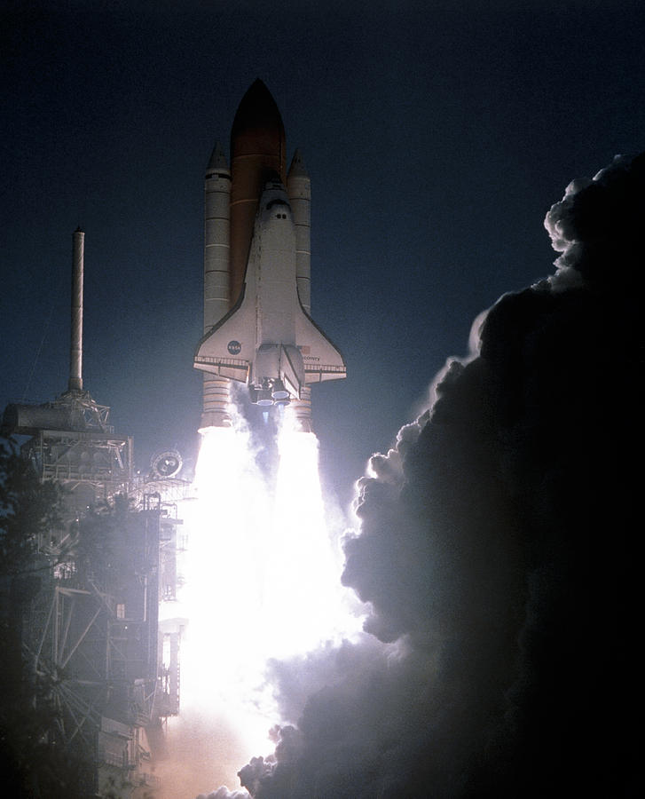 Space Shuttle Launch Photograph by Nasa