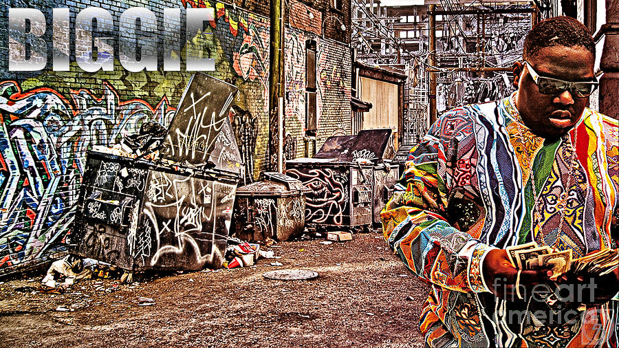 Street Phenomenon Biggie Digital Art  - Street Phenomenon Biggie Fine Art Print