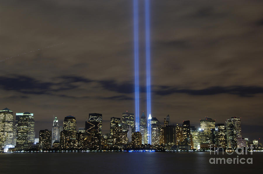 The Tribute In Light Memorial Photograph