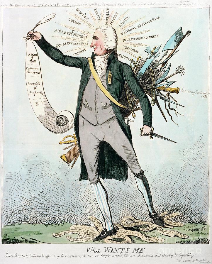 Thomas Paine (1737-1809) Photograph