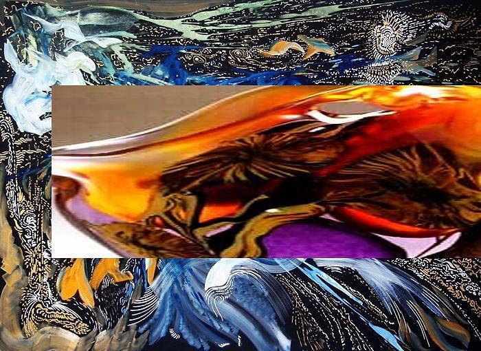 Ultramodern Space Painting